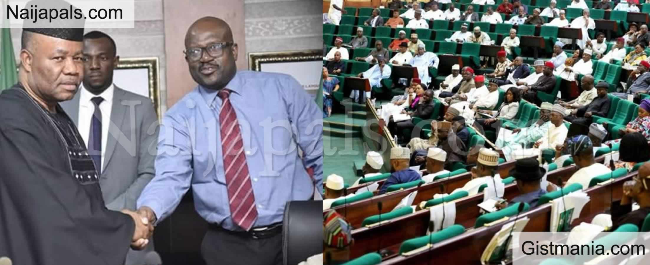 <img alt='.' class='lazyload' data-src='https://img.gistmania.com/emot/comment.gif' /> Big Drama As <b>NDDC Acting MD, Prof. Kemebradikumo Pondei Walks Out on Reps</b>