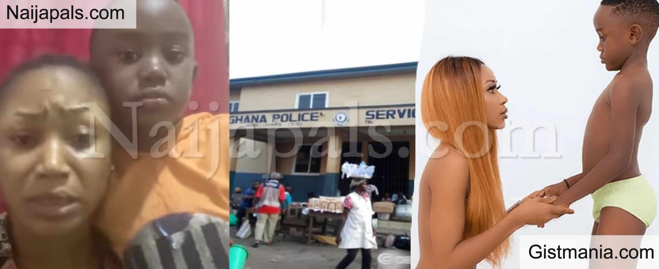 <img alt='.' class='lazyload' data-src='https://img.gistmania.com/emot/comment.gif' /> UPDATE:<b> Ghanaian Actress, Akuapem Poloo Arrested Over N00d Photo Post on Her Son's 7th Birthday</b>