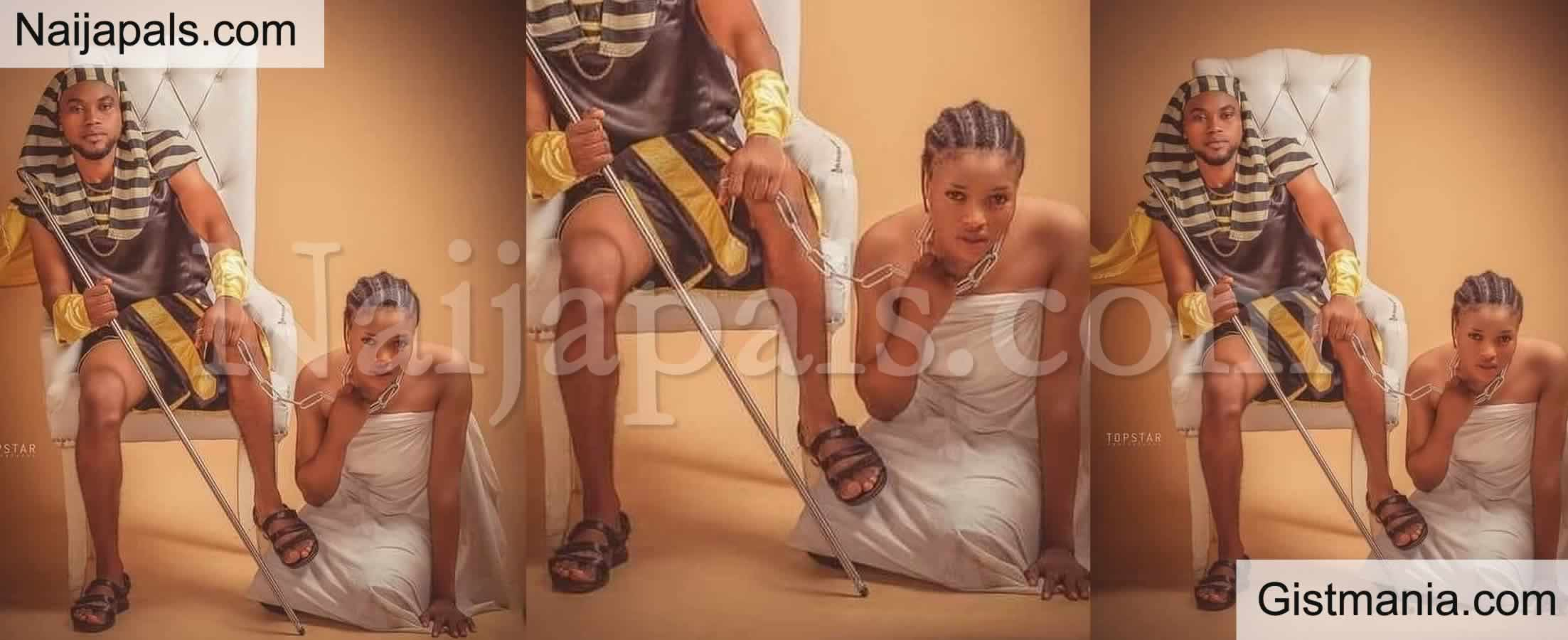<img alt='.' class='lazyload' data-src='https://img.gistmania.com/emot/comment.gif' /> YAY or NAY? <b>What is Wrong With This Nigerian Couple's Pre-wedding Photo</b>