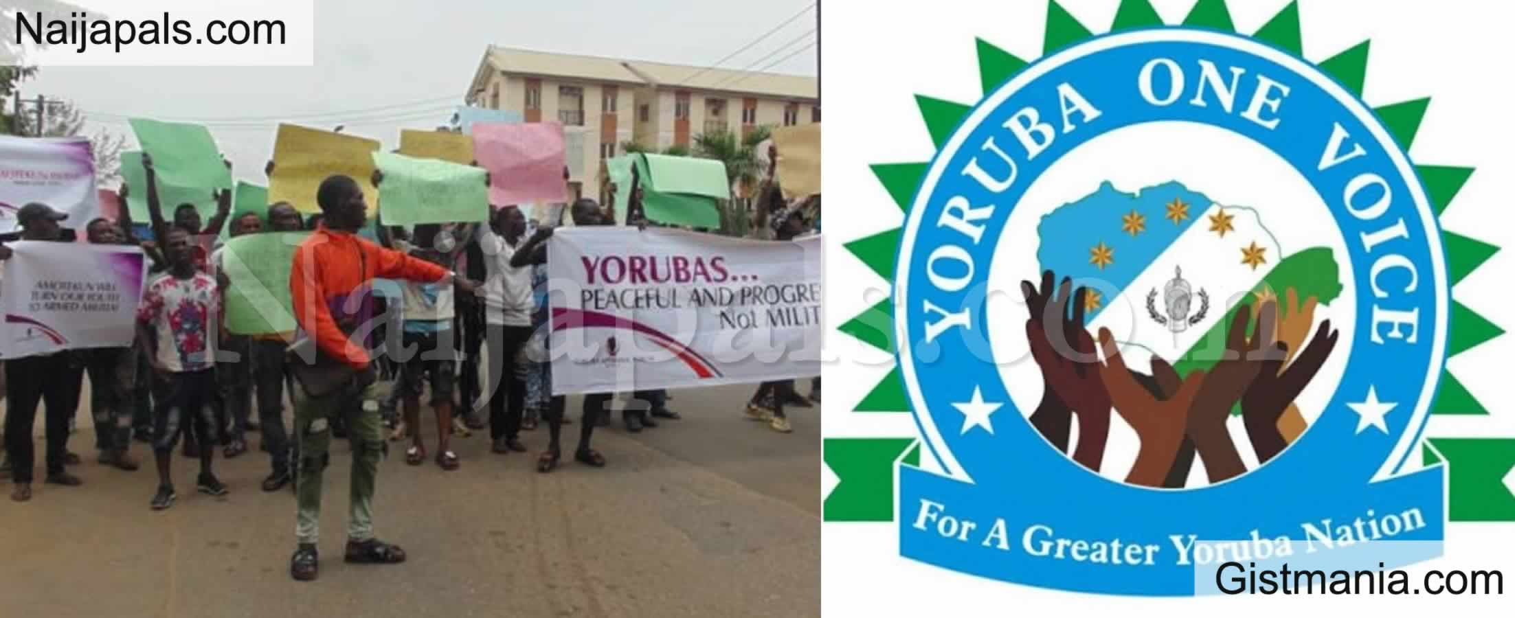 <img alt='.' class='lazyload' data-src='https://img.gistmania.com/emot/comment.gif' /> <b>Yoruba Group Kicks Against October 1 Protest, Calls For 'One Nigeria'</b>