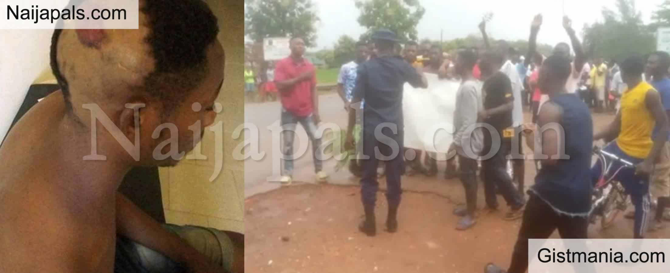 <img alt='.' class='lazyload' data-src='https://img.gistmania.com/emot/shocked.gif' /> <b>One Killed, Others Injured As Security Operatives Open Fire on Protesting Plateau Poly Students</b>