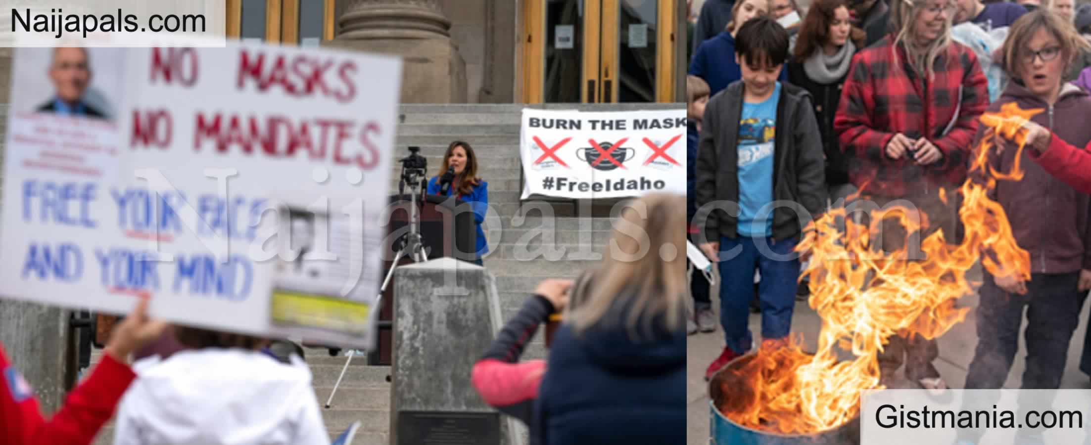 <img alt='.' class='lazyload' data-src='https://img.gistmania.com/emot/comment.gif' /> <b>I Will Not Self-Suffocate - Protesters Stage Mask Burning Event In Idaho, USA</b>