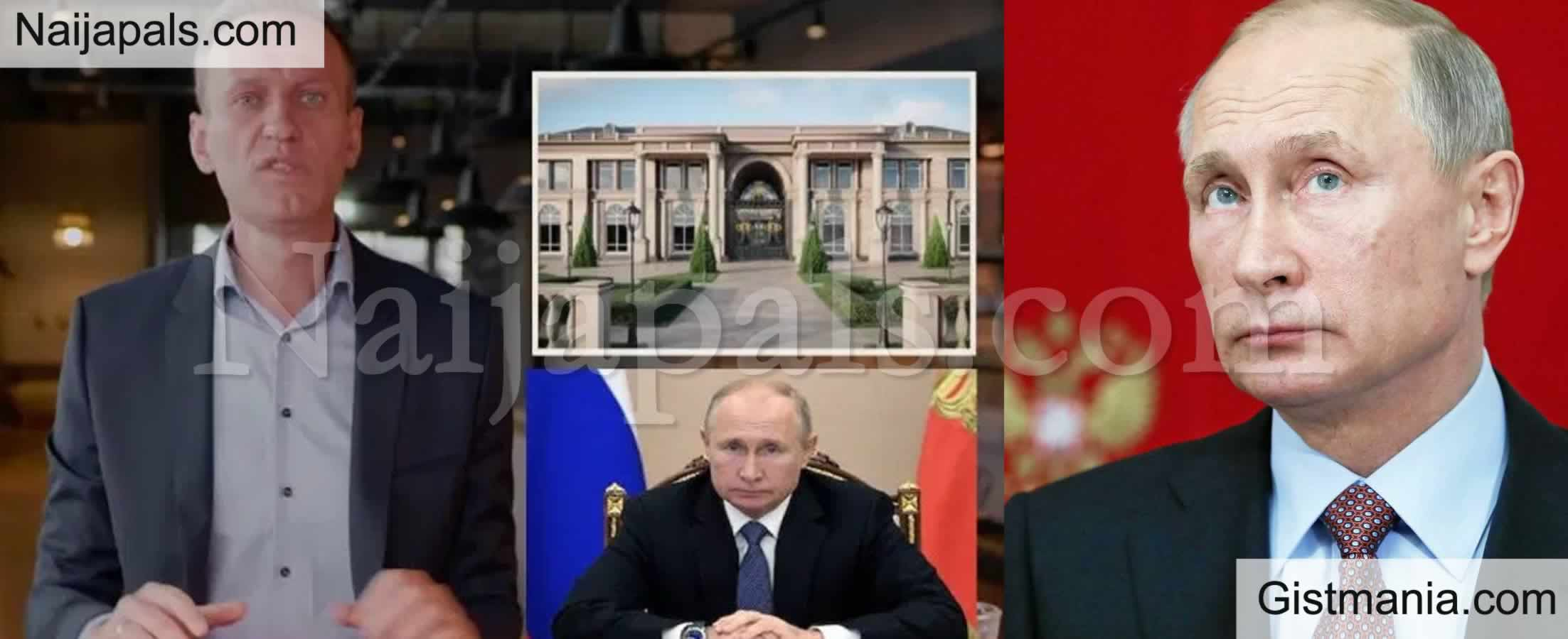 <img alt='.' class='lazyload' data-src='https://img.gistmania.com/emot/video.gif' /> <b>Vladimir Putin's Critic, Navalny Exposes His $1.35b Palace Built With 'Bribe' Money </b>(VID)