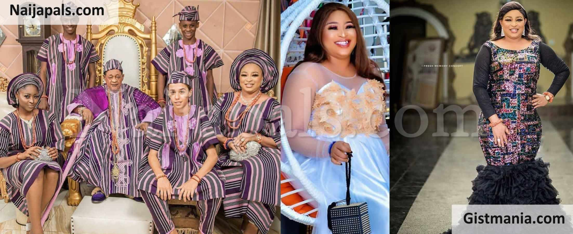 <img alt='.' class='lazyload' data-src='https://img.gistmania.com/emot/photo.png' /> <b>Alaafin Of Oyo's Beautiful Wife, Queen Abbey Shares Her Stunning Photos + Family Photos</b>