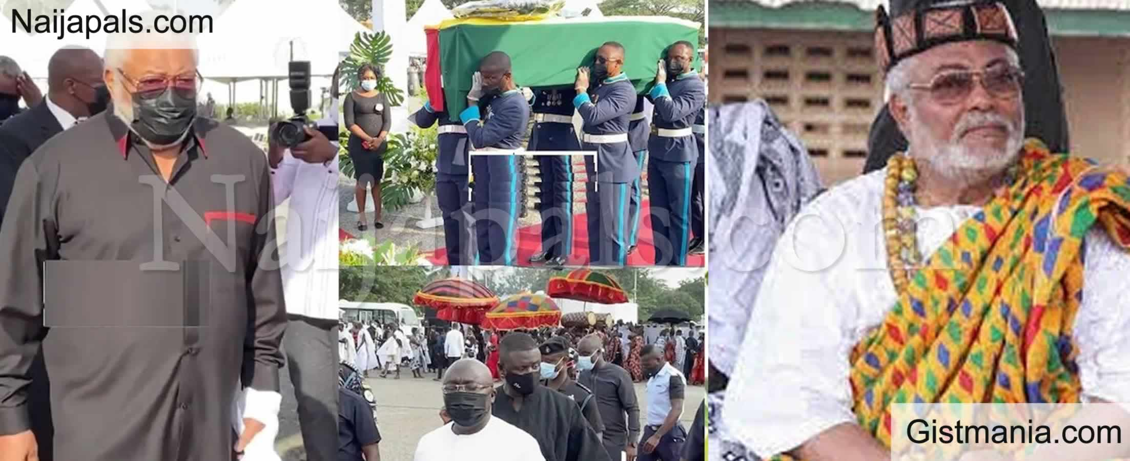 <img alt='.' class='lazyload' data-src='https://img.gistmania.com/emot/cry.gif' /> <b>Ghana's Former President Jerry J. Rawlings Finally Laid to Rest</b> (Photos)