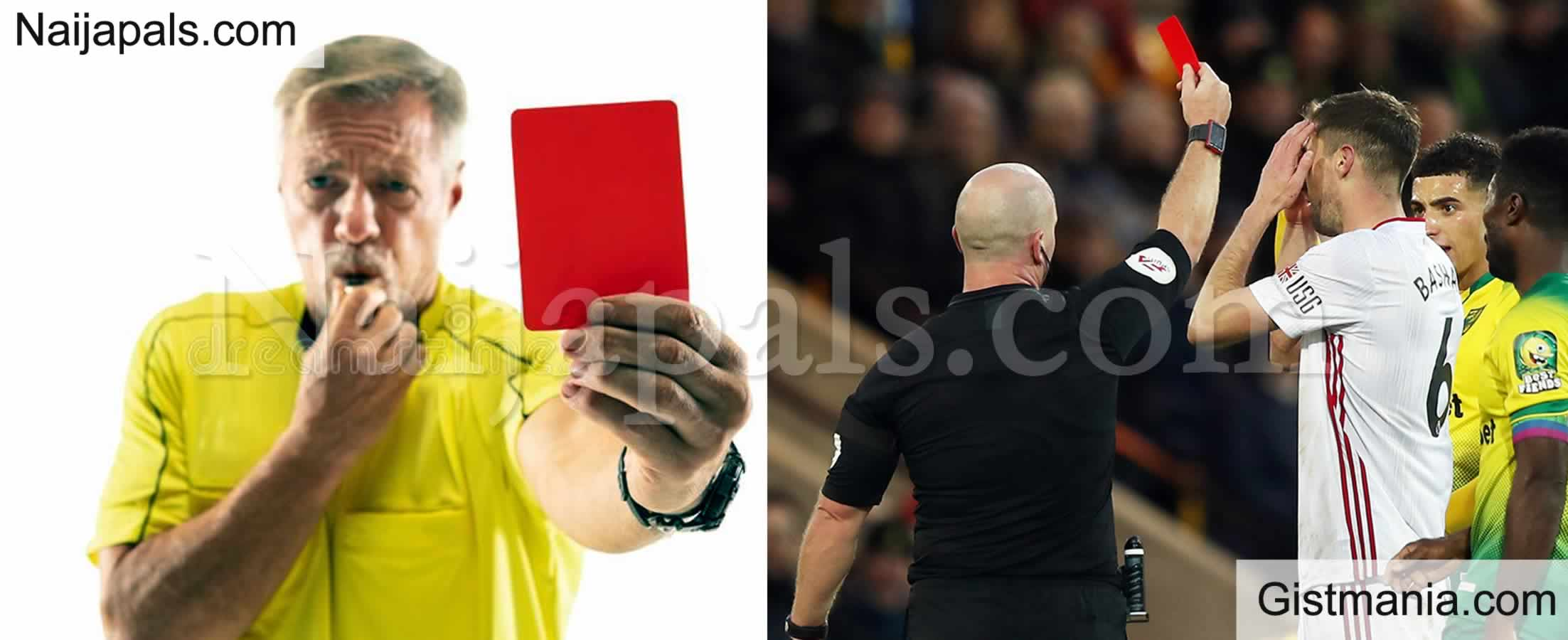 <img alt='.' class='lazyload' data-src='https://img.gistmania.com/emot/photo.png' /> CORONAVIRUS: <b>Footballers To Get Red Card If They Deliberately Cough During Matches</b>