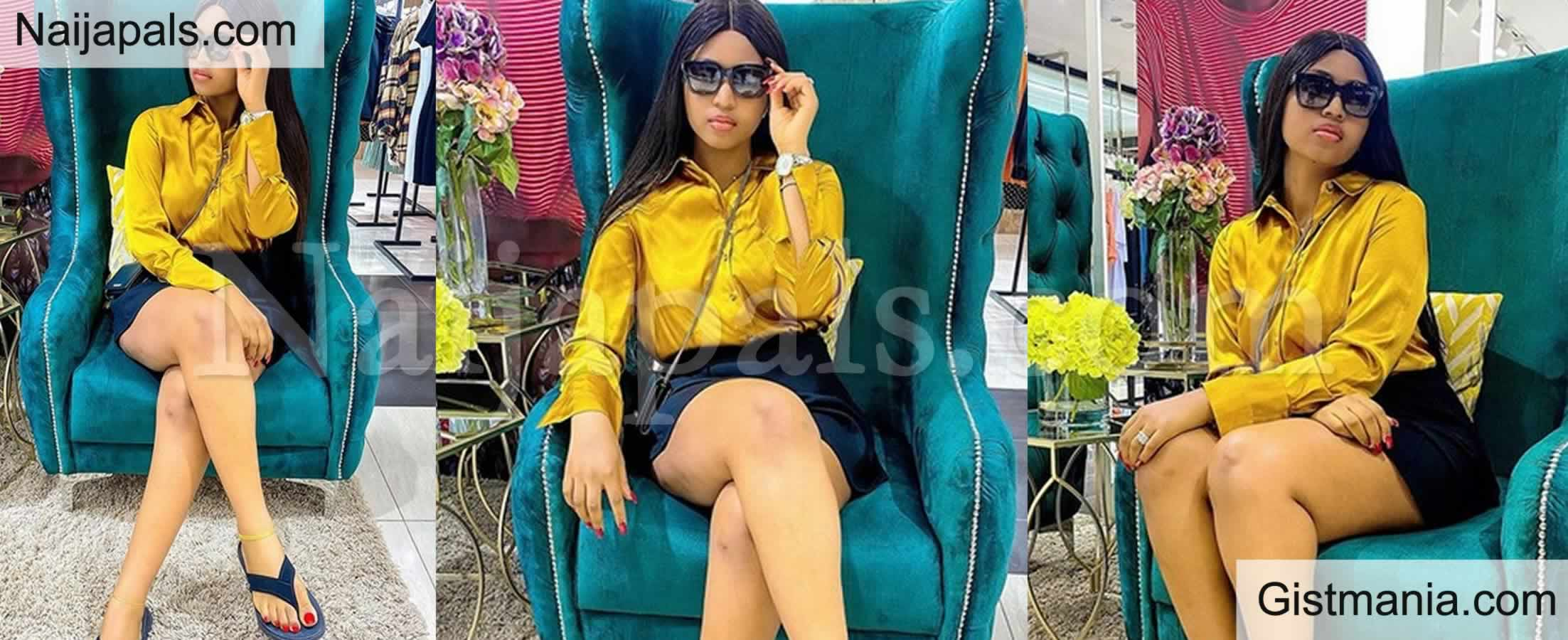 "<img alt='.' class='lazyload' data-src='https://img.gistmania.com/emot/shocked.gif' /> <b>""You Don't Even Have Br3ast Anymore""</b>- Fans Comes For Regina Daniels After She Posted This."