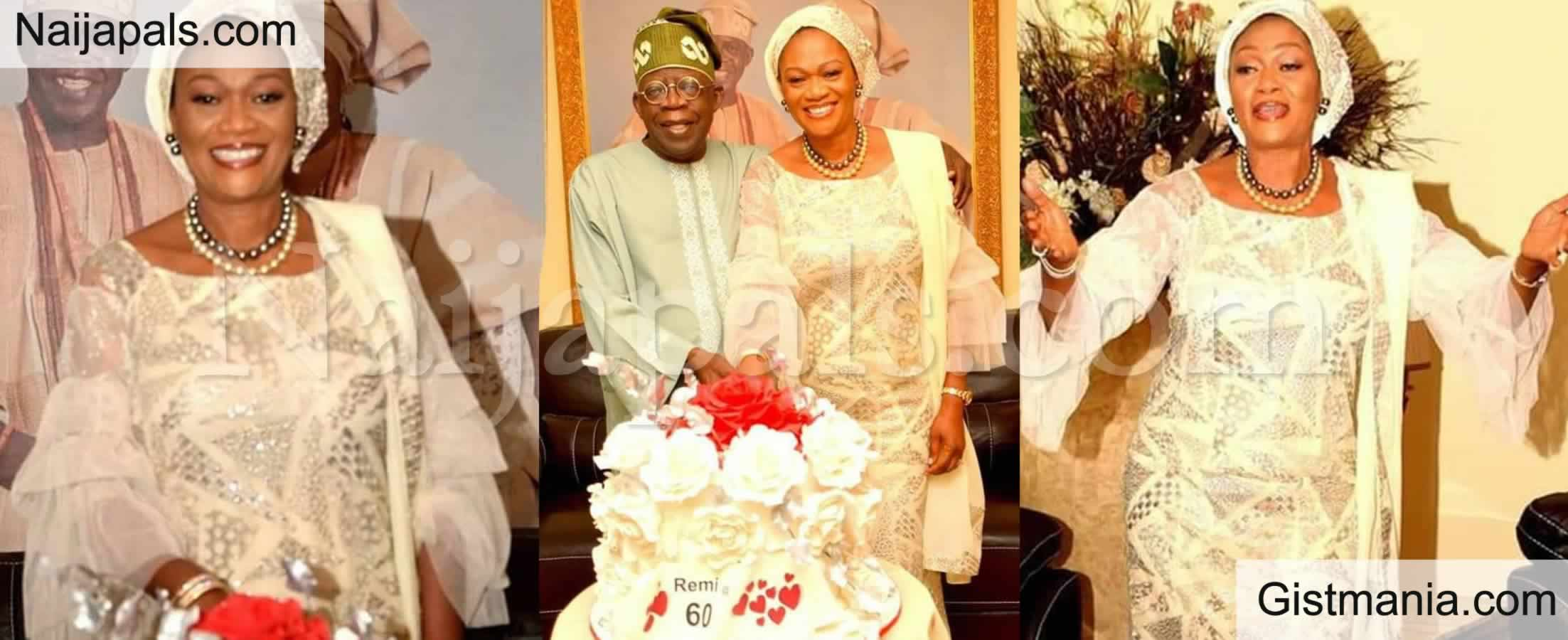 <img alt='.' class='lazyload' data-src='https://img.gistmania.com/emot/photo.png' /> PHOTOS: APC Leader, <b>Bola Tinubu Celebrates His Wife, Sen. Oluremi Tinubu on Her 60th Birthday</b>
