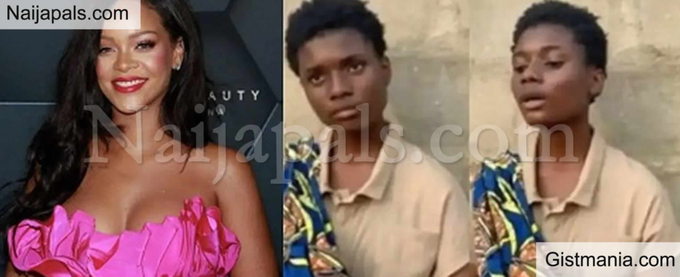 <img alt='.' class='lazyload' data-src='https://img.gistmania.com/emot/thumbs_up.gif' /> <b>Rihanna Contacts 17-Year-Old Nigerian Hawker Who Set Internet On Fire with Her Sweet Voice</b> -Vid