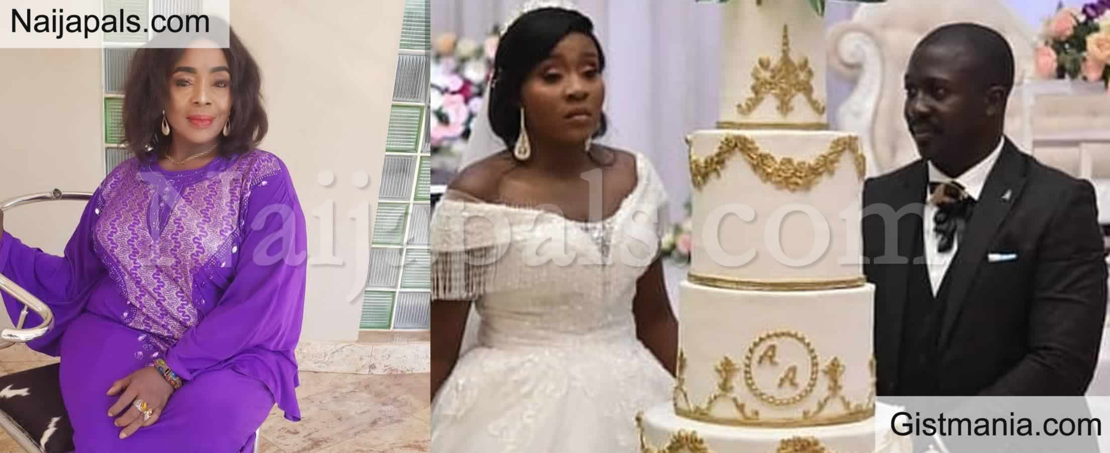 <img alt='.' class='lazyload' data-src='https://img.gistmania.com/emot/news.gif' /> Photos: <b>Actress Rita Edochie's Daughter, Amanda Ties The Knot With Fiance</b>