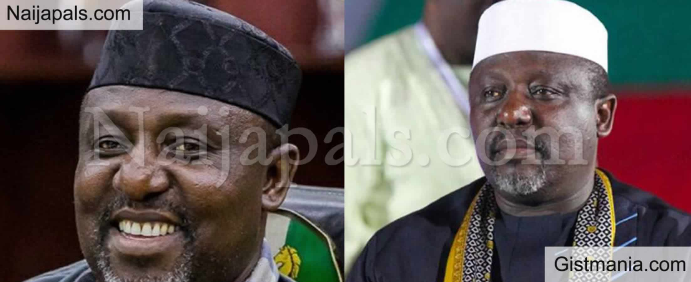 <img alt='.' class='lazyload' data-src='https://img.gistmania.com/emot/news.gif' /> <b>Rochas Okorocha Responds After Being Arrested By EFCC</b>