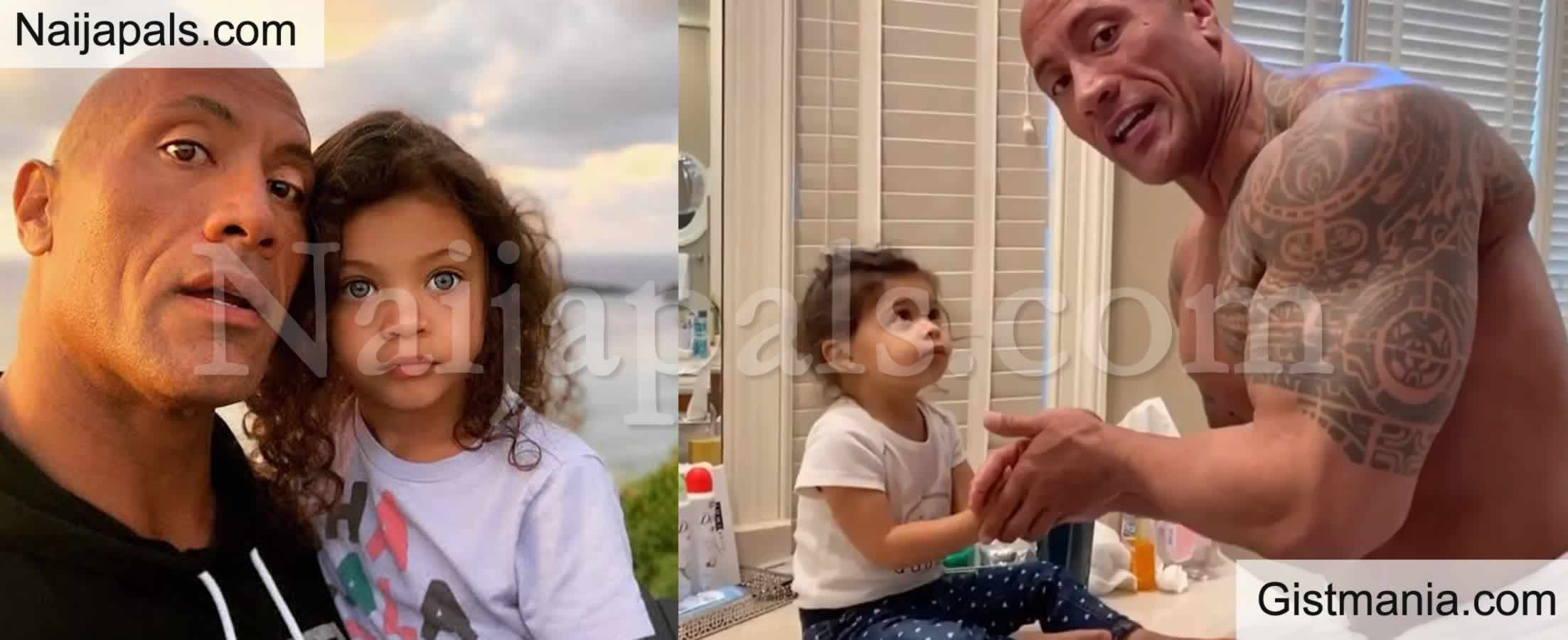 <img alt='.' class='lazyload' data-src='https://img.gistmania.com/emot/video.gif' /> <b>Dwayne Johnson Re-Enacts Scenes From Moana With His Youngest Daughter In Adorable video</b>
