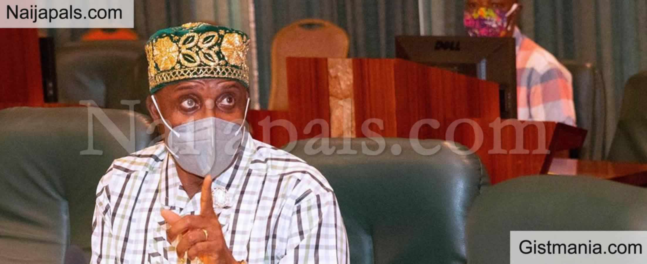 """<img alt='.' class='lazyload' data-src='https://img.gistmania.com/emot/comment.gif' /> <b>""""Ethnicity Is The Problem Of Nigeria"""" - Rotimi Amaechi Disappointed At Nigeria Situation</b>"""