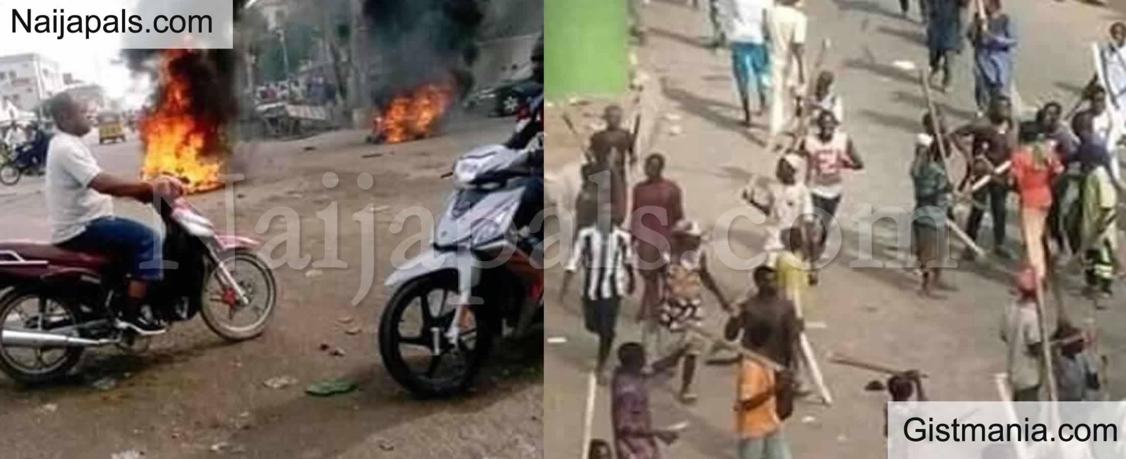 <img alt='.' class='lazyload' data-src='https://img.gistmania.com/emot/news.gif' /> <b>One Feared Dead As Angry Youths Protest Against Continuous Bandits Attack in Katsina</b>