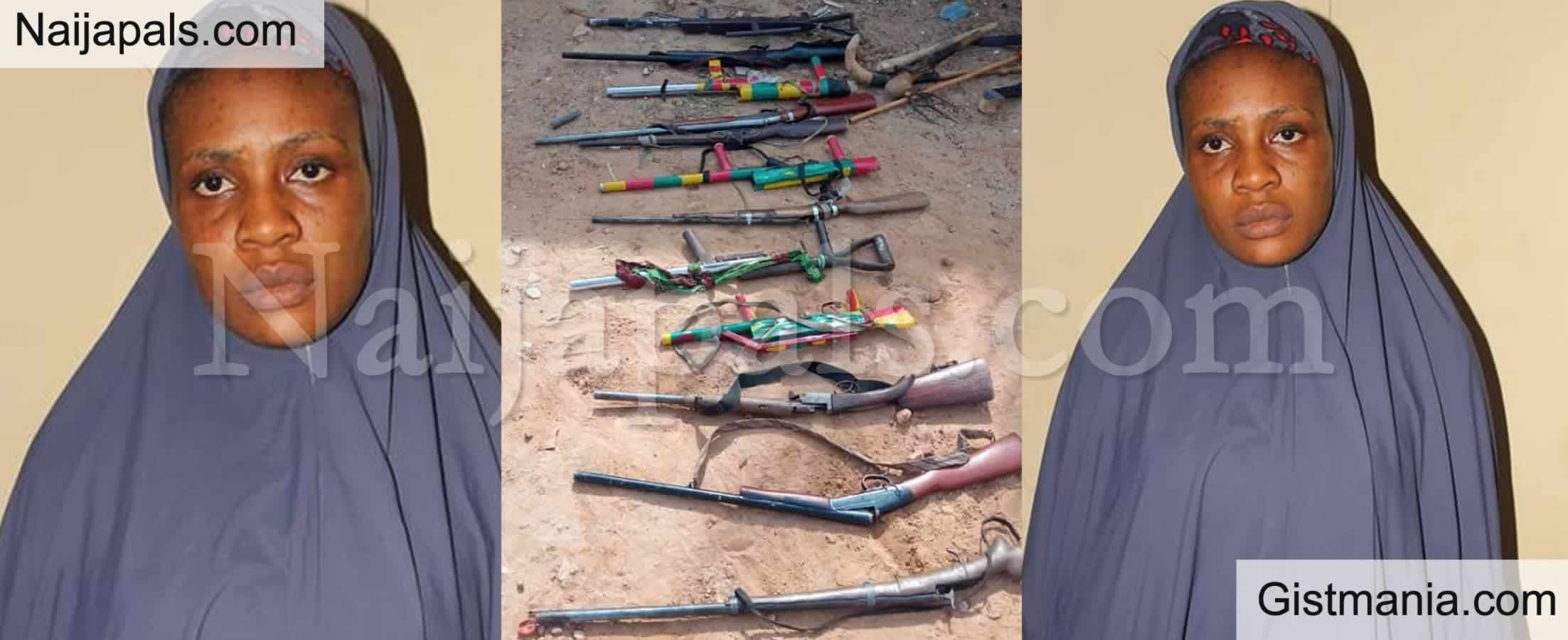 <img alt='.' class='lazyload' data-src='https://img.gistmania.com/emot/comment.gif' /> PHOTO: <b>Female Informant Who Harbour And Hide Arms For Bandits Arrested in Bauchi</b>