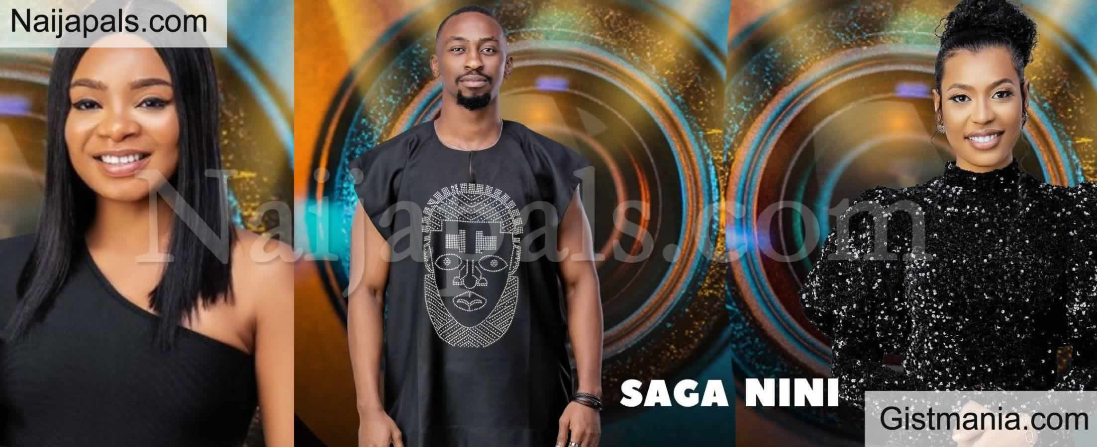 <img alt='.' class='lazyload' data-src='https://img.gistmania.com/emot/comment.gif' /> BBNaija: <b>Saga, Nini and Queen Evicted From Reality Show, Queen Expresses Shock</b>