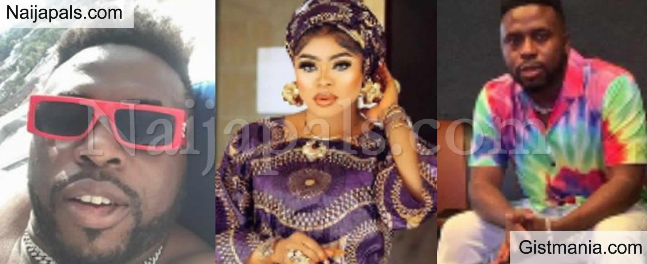 <img alt='.' class='lazyload' data-src='https://img.gistmania.com/emot/photo.png' /> PHOTOS: <b>Nigerians Drag Ex Singer Samklef Over His Conversation With Bobrisky</b>