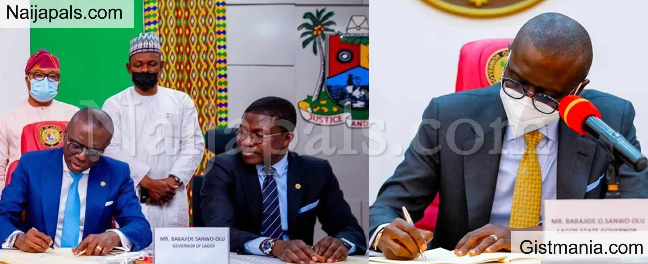 <img alt='.' class='lazyload' data-src='https://img.gistmania.com/emot/news.gif' /> <b>Lagos Gov. Babajide Sanwo-Olu Signs Bill Seeking To Jail Armed Herdsmen For 21-Year</b>