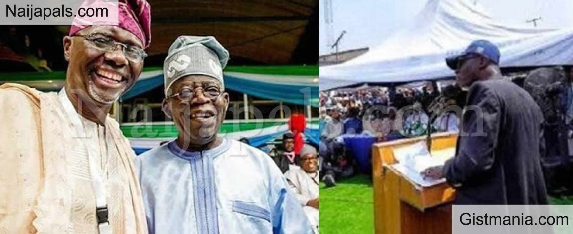 <img alt='.' class='lazyload' data-src='https://img.gistmania.com/emot/news.gif' /> <b>Lagos State Gov. Sanwo Olu Names Secretariat Complex After APC Chieftain Bola Tinubu</b>