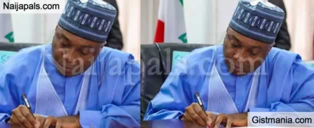 <img alt='.' class='lazyload' data-src='https://img.gistmania.com/emot/comment.gif' /> <b>Ex Senate Pre. Bukola Saraki Slams APC After Calling For His Probe Over Links To Hushpuppi</b>