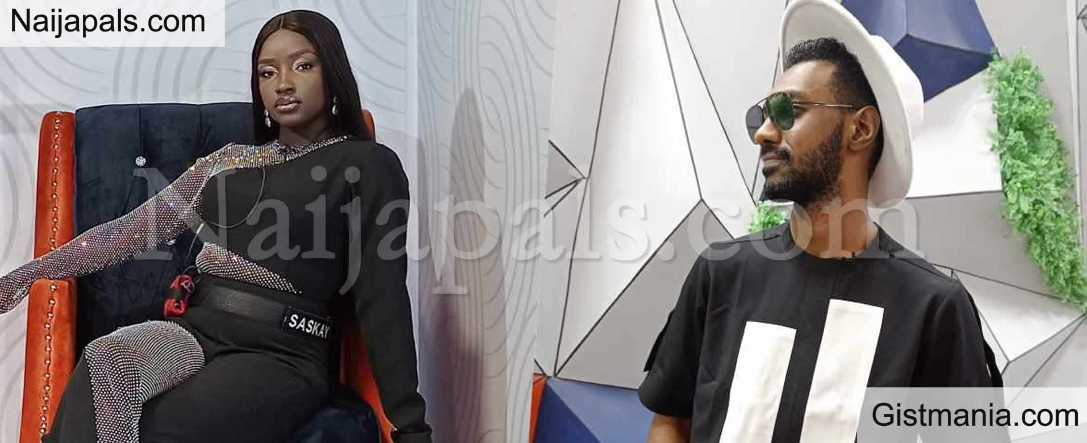 <img alt='.' class='lazyload' data-src='https://img.gistmania.com/emot/news.gif' /> UPDATE: <b>BBNaija S6 Housemates, Yousef And Saskay Evicted From The Reality Show</b>