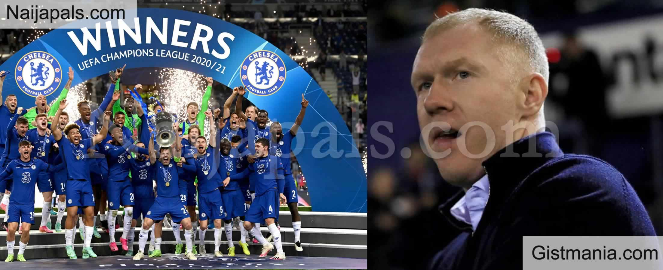 <img alt='.' class='lazyload' data-src='https://img.gistmania.com/emot/soccer.gif' /> <b>Chelsea Will Not Win EPL Title - Manchester United Legend, Scholes Gives Reason</b>
