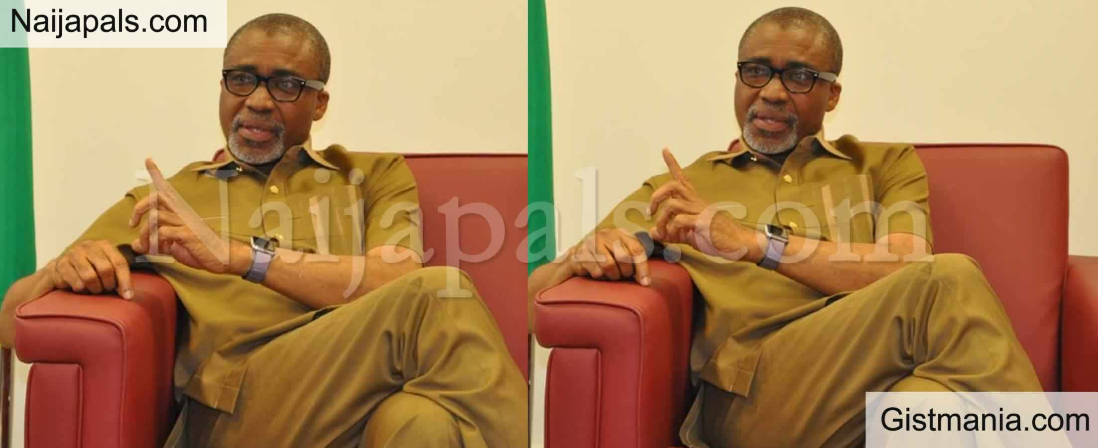 <img alt='.' class='lazyload' data-src='https://img.gistmania.com/emot/comment.gif' /> <b>DSS Arrests Senator Abaribe, Conducts Search On His Residence</b>