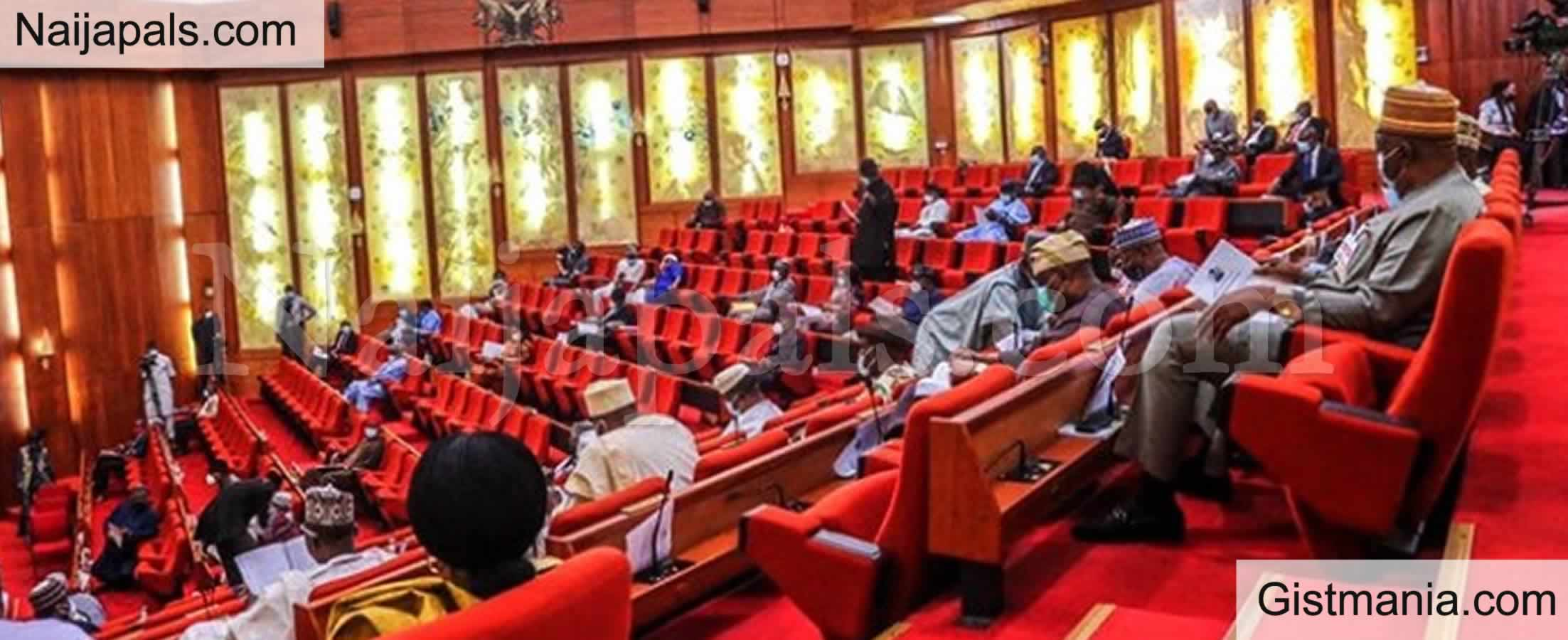 <img alt='.' class='lazyload' data-src='https://img.gistmania.com/emot/comment.gif' /> <b>Nigerian Senate Approves Nationwide Emergency Communications Service, 112 As Toll-Free Number</b>