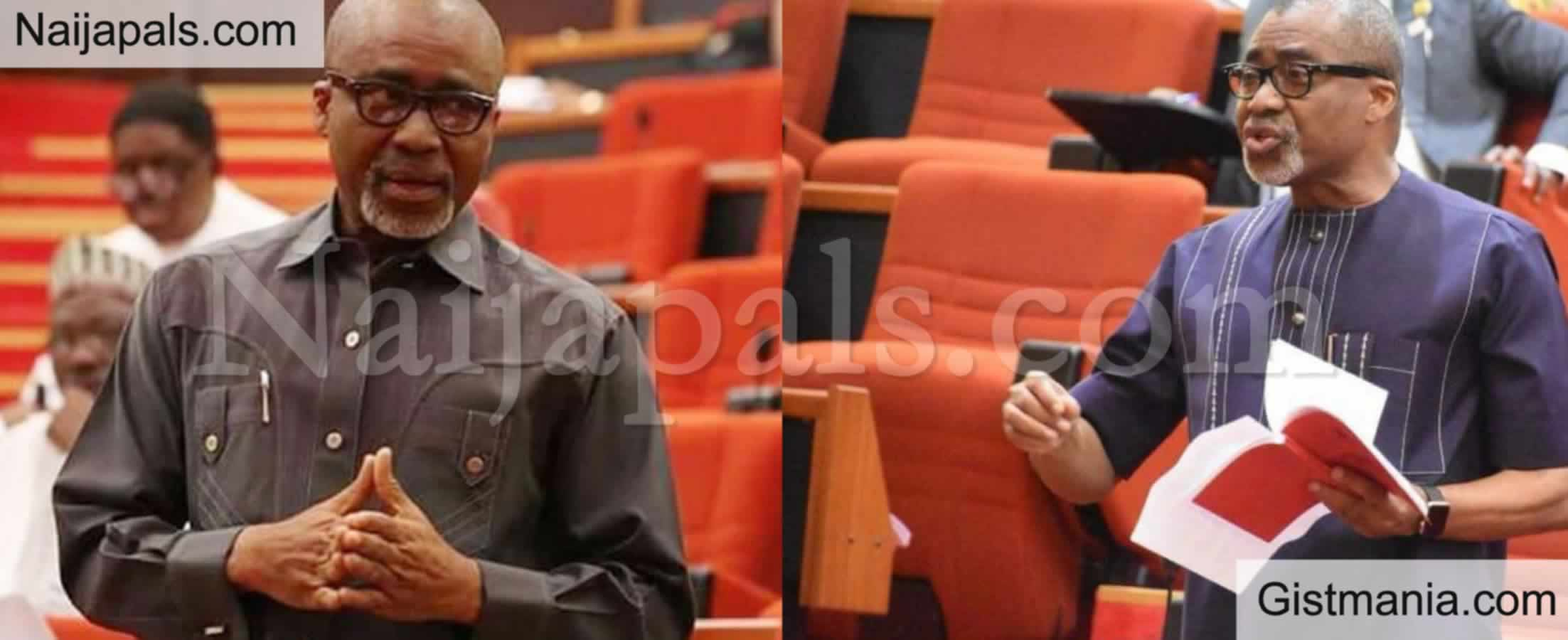 <img alt='.' class='lazyload' data-src='https://img.gistmania.com/emot/comment.gif' /><b> I Was Forced To Swear An Oath At A Shrine By Orji Uzor Kalu's Brother </b>- Nigerian Senator