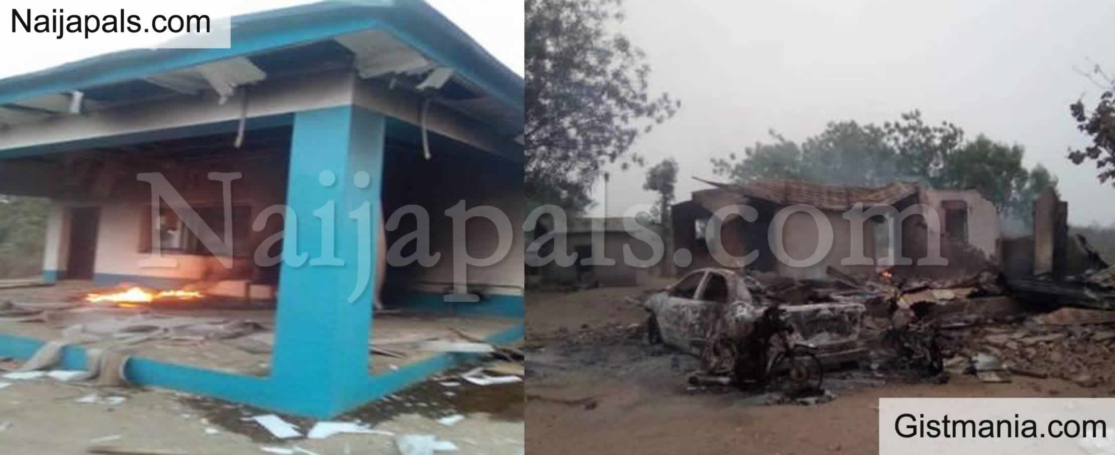 <img alt='.' class='lazyload' data-src='https://img.gistmania.com/emot/cry.gif' /> <b>Seriki Fulani Laments As He Was Driven Out With Wife And Children, House, 11 Cars Burnt In Oyo</b>