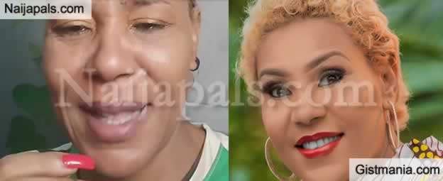 <img alt='.' class='lazyload' data-src='https://img.gistmania.com/emot/video.gif' /> Your Fada! <b>Actress Shan George Slams Those Who Think People Can't Make it Without Them</b> (VID)