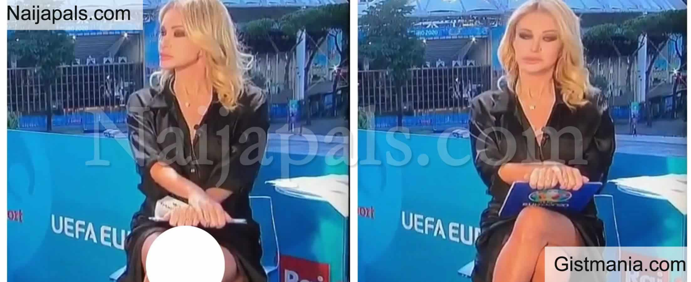 <img alt='.' class='lazyload' data-src='https://img.gistmania.com/emot/shocked.gif' /> <b>Moment Sport Journalist, Paola Ferrari Flashed Her Private Part on Live TV</b> (Video)