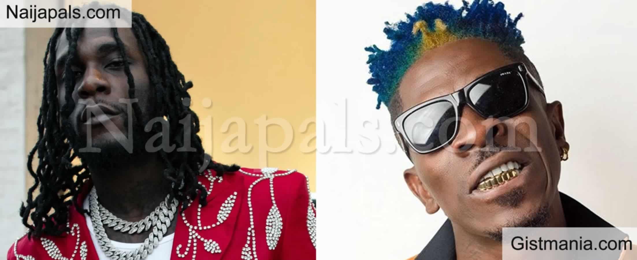 "<img alt='.' class='lazyload' data-src='https://img.gistmania.com/emot/video.gif' /> VIDEO: <b>""You Are a P Boy"" - Shatta Wale Blasts Burna Boy For Gossiping About Him In Ghana</b>"