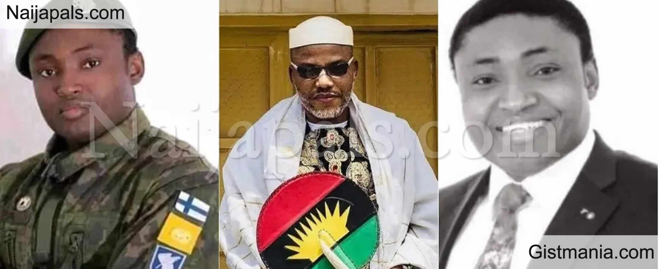 <img alt='.' class='lazyload' data-src='https://img.gistmania.com/emot/comment.gif' /> <b>The Chain Is Finally Broken – Disciple Ekpa Reacts To Kanu In Court Without Handcuffs</b>