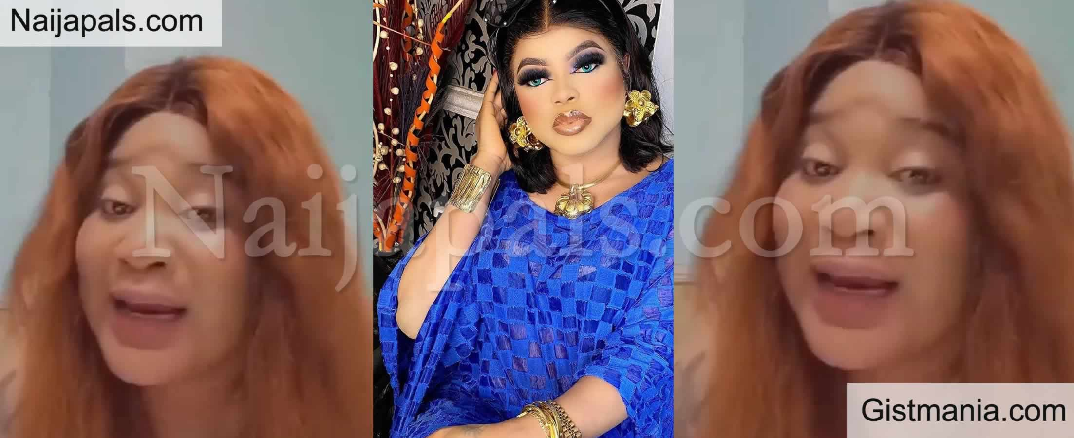 <img alt='.' class='lazyload' data-src='https://img.gistmania.com/emot/video.gif' /> <b>Bobrisky is Full of Bad Luck</b> - Nigerian Lady Calls Out The Cross Dresser in Viral Video