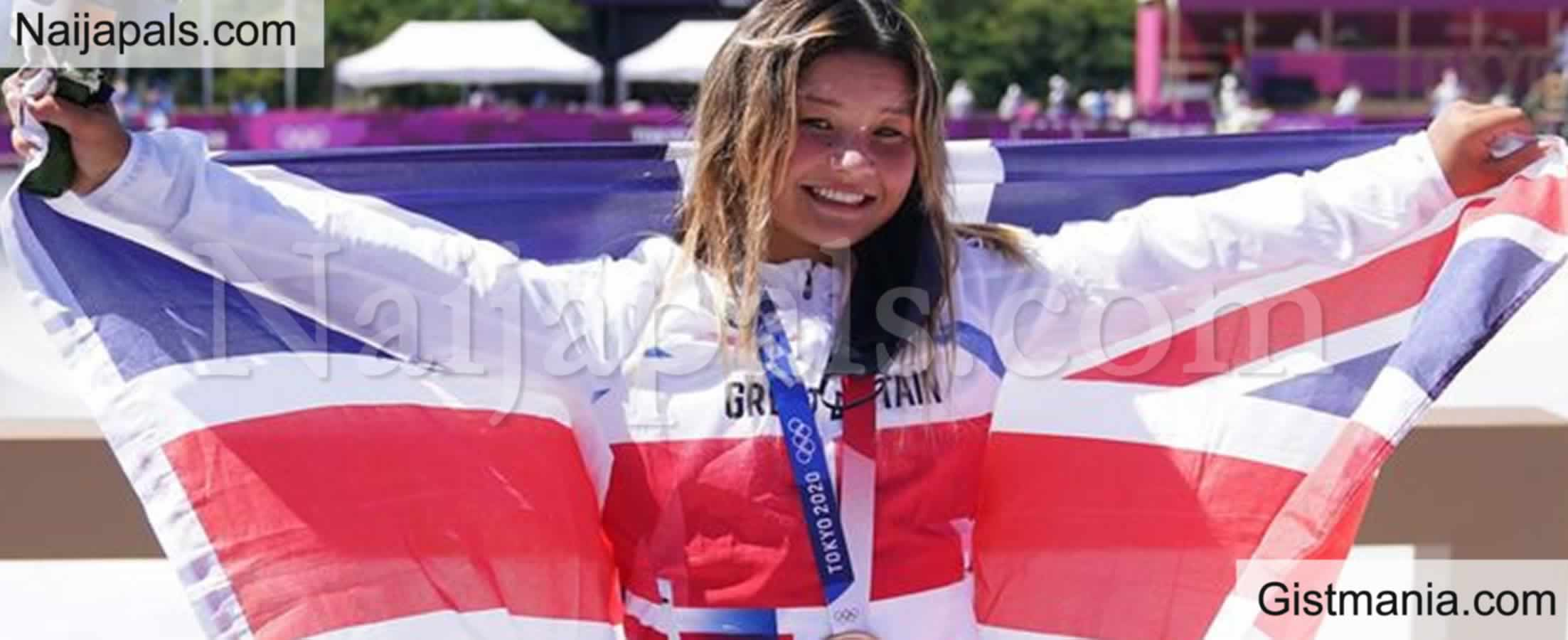 <img alt='.' class='lazyload' data-src='https://img.gistmania.com/emot/thumbs_up.gif' /><b> 13-year-old Girl Makes History After Winning Olympic Medal  </b>For Great Britain (Photo)