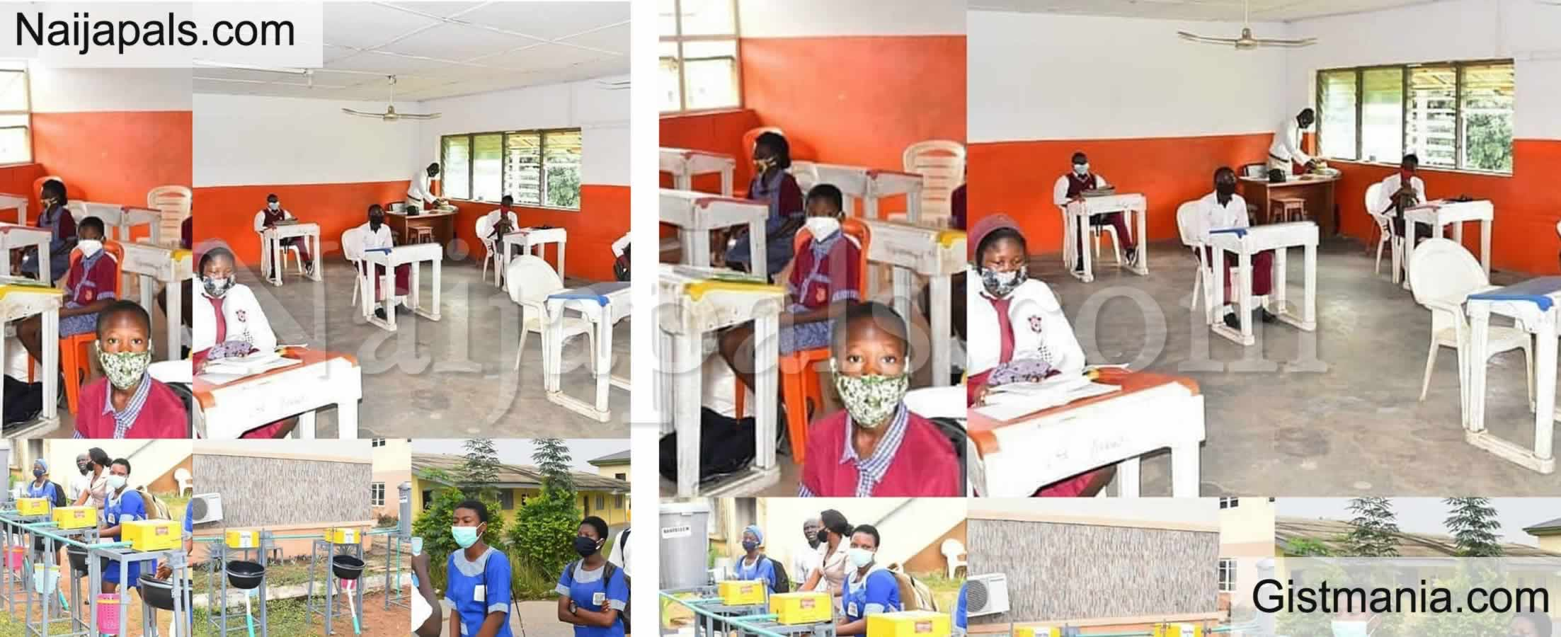 "<img alt='.' class='lazyload' data-src='https://img.gistmania.com/emot/news.gif' /> ""<b>Environment Unsafe To Reopen Schools""- Imo Govt Says As Schools Are Yet To Reopen In The State</b>"