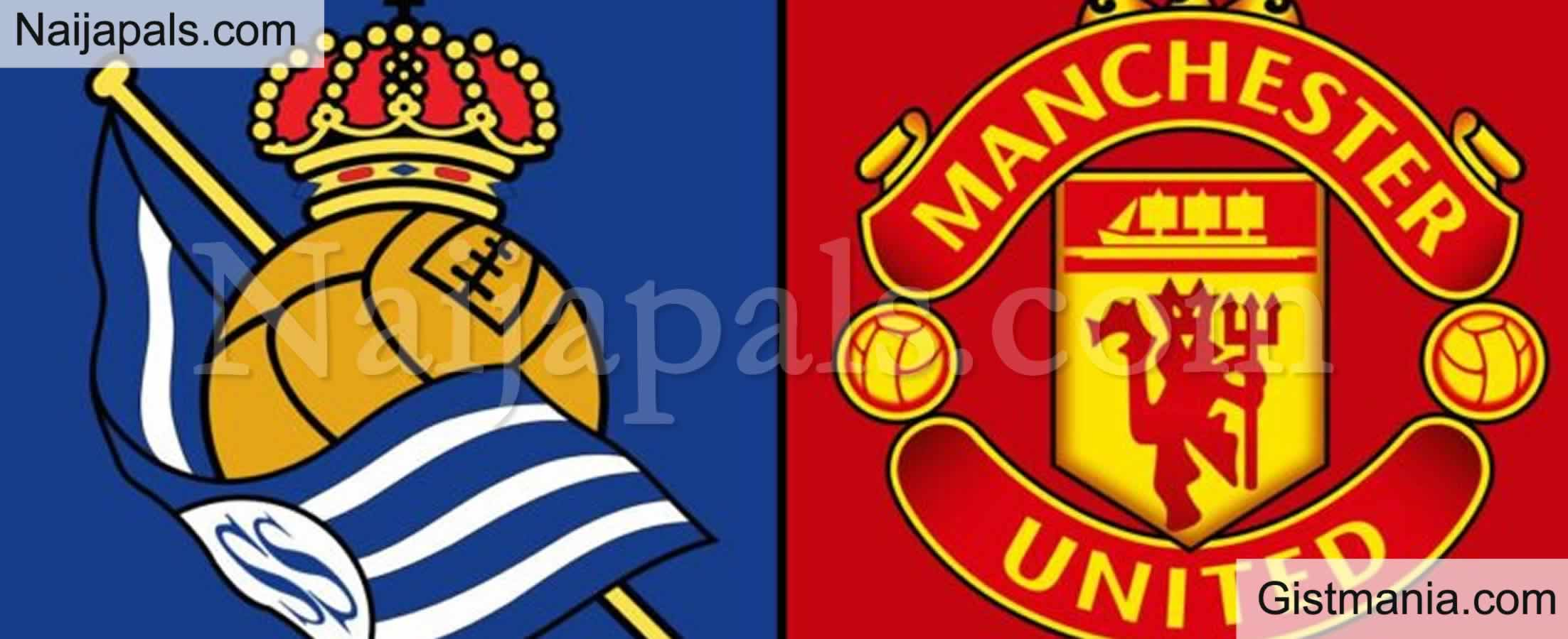 <img alt='.' class='lazyload' data-src='https://img.gistmania.com/emot/soccer.gif' /> <b>Manchester United v Sociedad : UEFA Europa League Match, Team News, Goal Scorers and Stats</b>