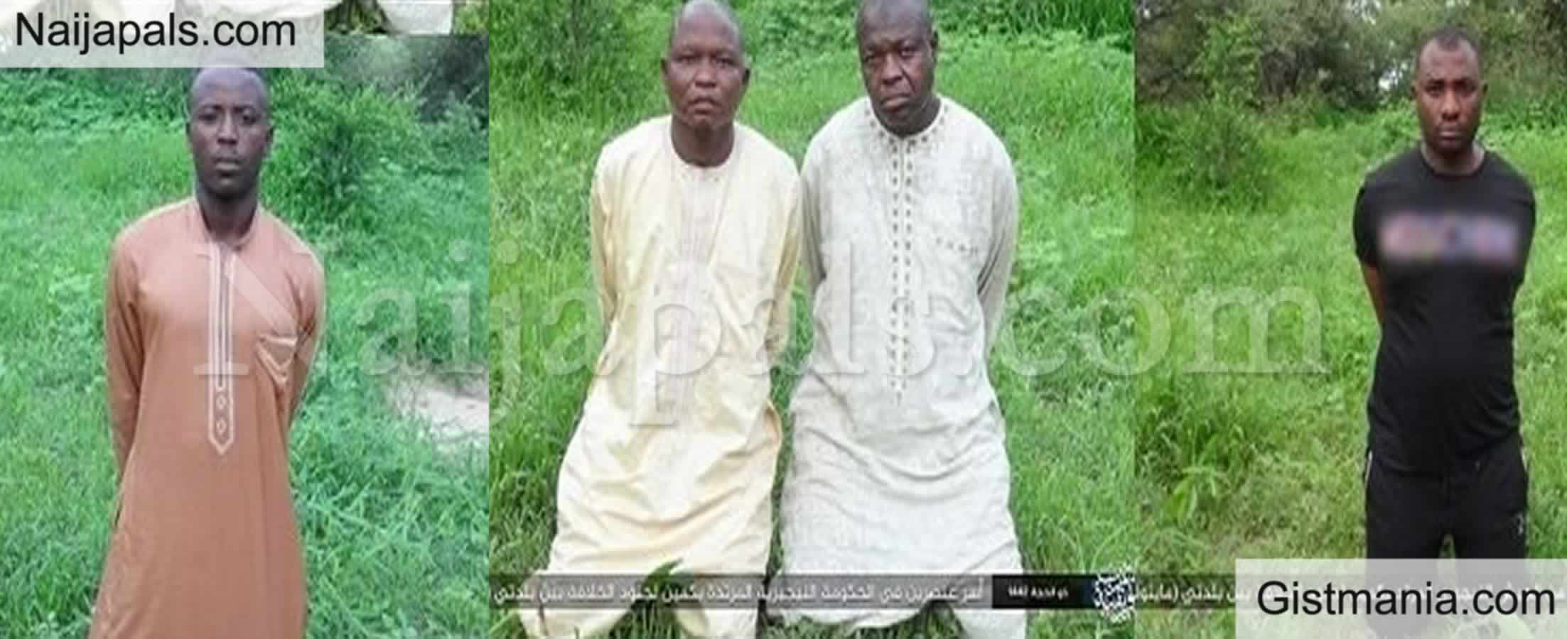 <img alt='.' class='lazyload' data-src='https://img.gistmania.com/emot/news.gif' /><b> Boko Haram/ISWAP Releases Pictures of Abducted Soldiers, Yobe Protocol Officers</b> (Photo)
