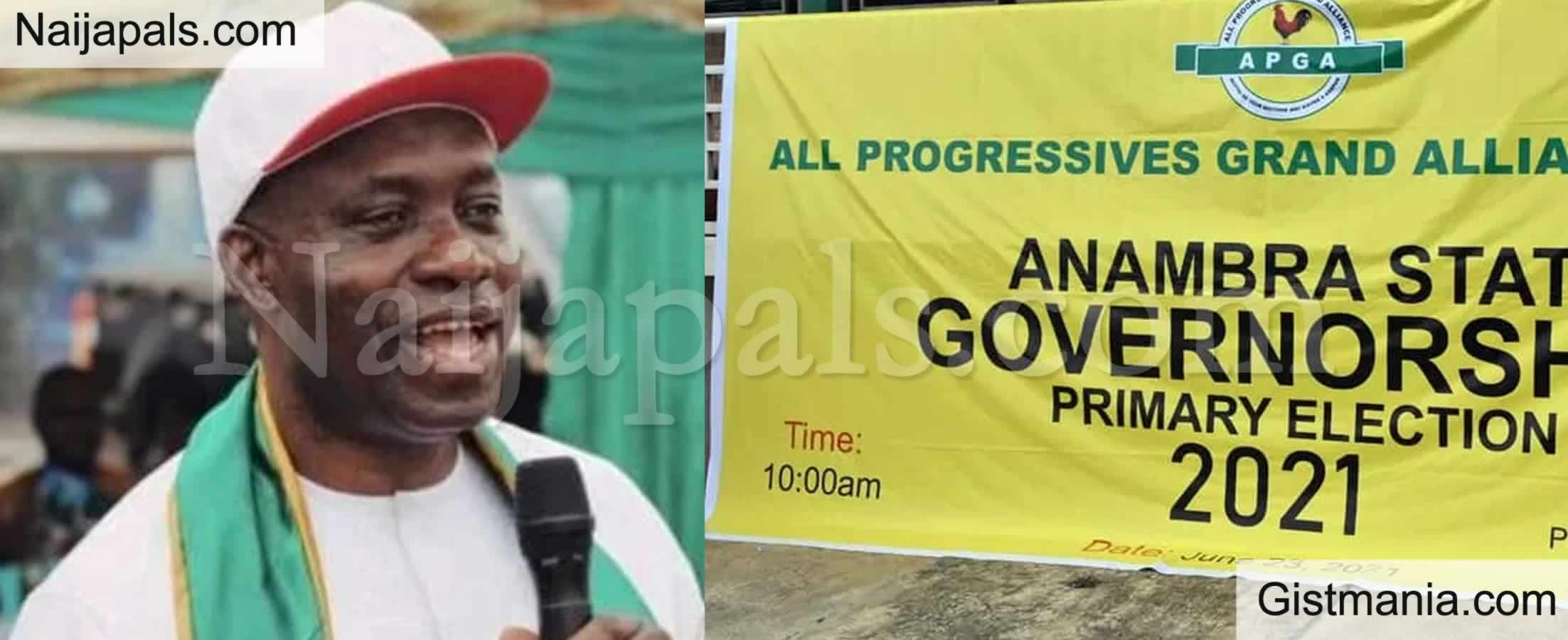 <img alt='.' class='lazyload' data-src='https://img.gistmania.com/emot/news.gif' /> Former CBN Boss, <b>Charles Soludo Emerges APGA's Governorship Candidate in Anambra</b>