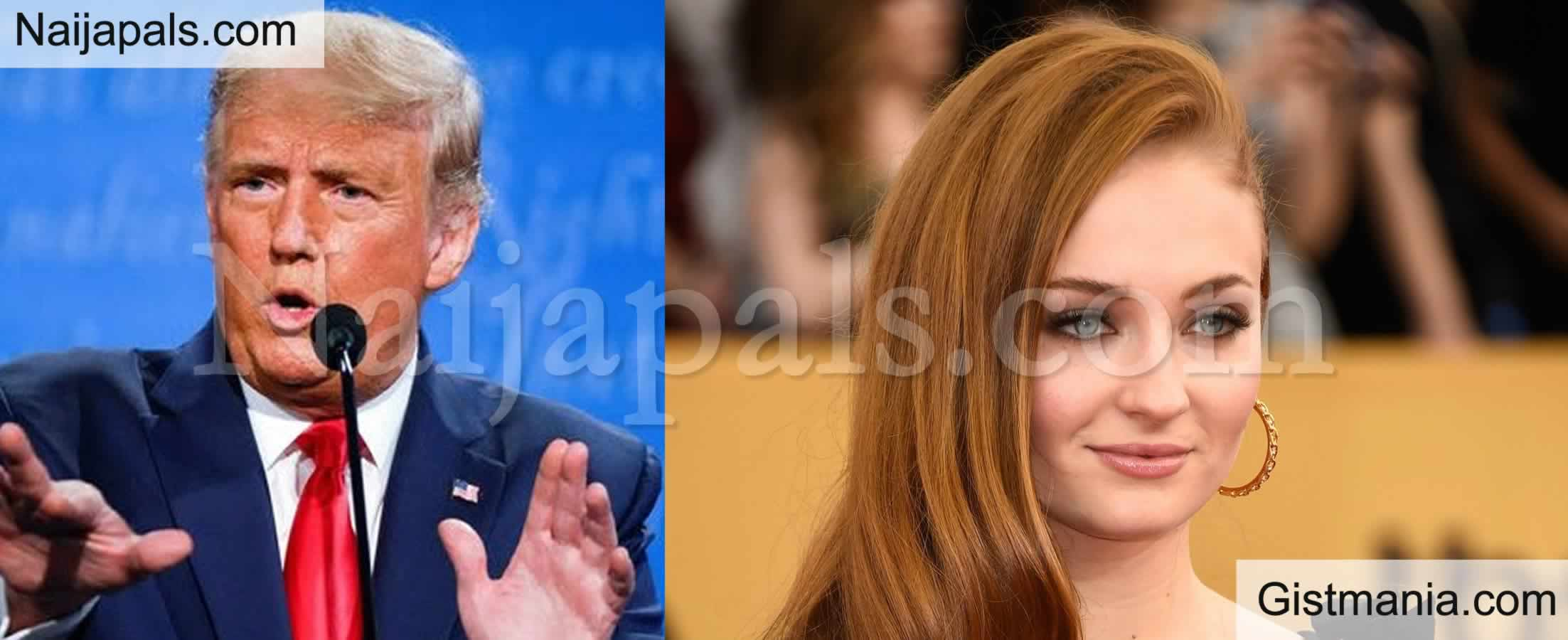 <img alt='.' class='lazyload' data-src='https://img.gistmania.com/emot/comment.gif' /> <b>Sophie Turner Shades Trump For Calling Europe A Country During The Final Presidential Debate</b>
