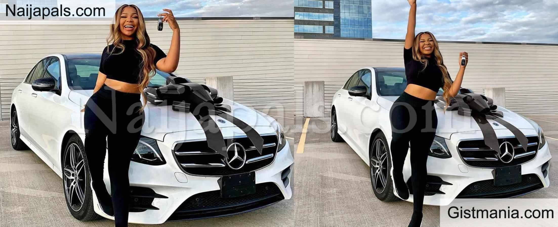 <img alt='.' class='lazyload' data-src='https://img.gistmania.com/emot/thumbs_up.gif' /> My Dream Come True - <b>Nigerian Youtuber, Sophiology Shows Of Her Multi-Million Naira Dream Car</b>