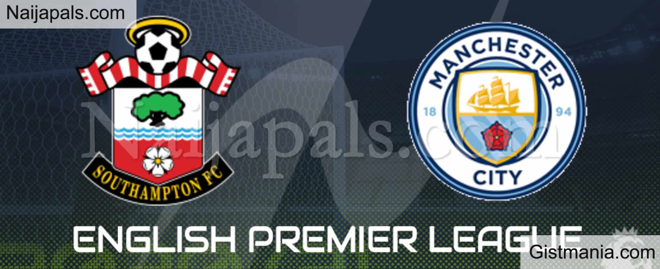 <img alt='.' class='lazyload' data-src='https://img.gistmania.com/emot/soccer.gif' /> <b>Southampton v Man City : English Premier League Match, Team News, Goal Scorers and Stats</b>
