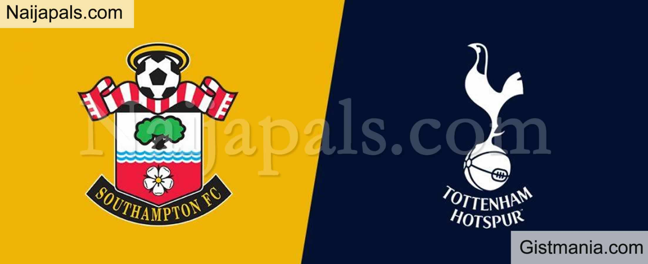 <img alt='.' class='lazyload' data-src='https://img.gistmania.com/emot/soccer.gif' /> <b>Southampton v Tottenham: English Premier League Match, Team News, Goal Scorers and Stats</b>
