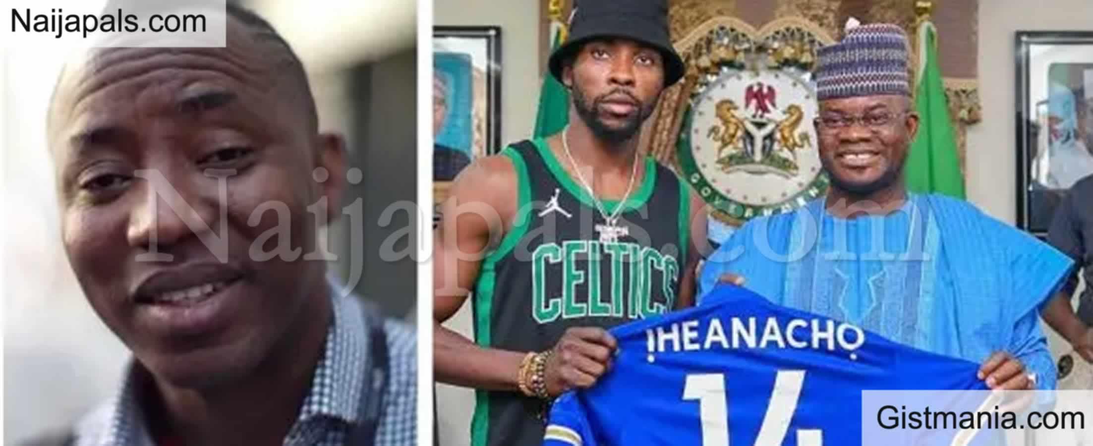 "<img alt='.' class='lazyload' data-src='https://img.gistmania.com/emot/comment.gif' /><b> ""He's An Opportunist"" -Sowore Slams Footballer, Kelechi Ihenacho Over His Visit To Yahaya Bello</b>"