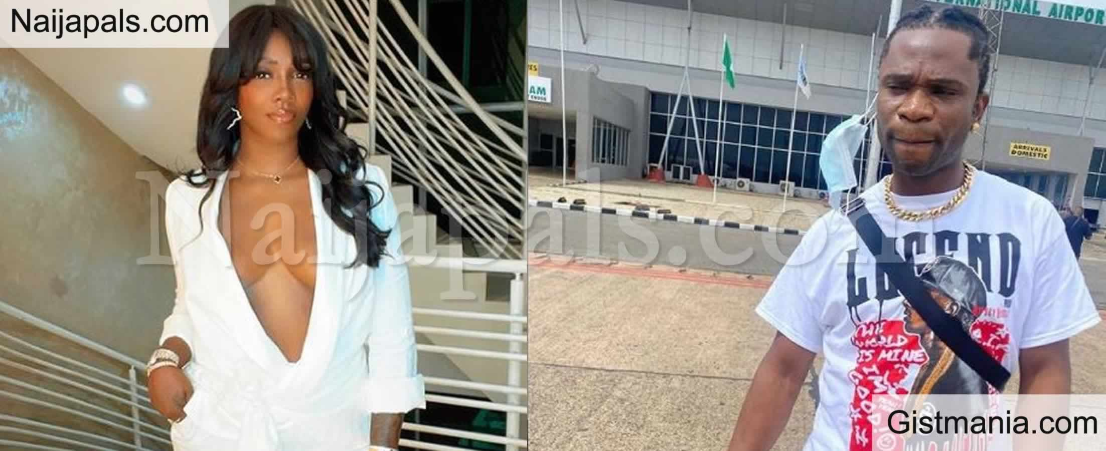 <img alt='.' class='lazyload' data-src='https://img.gistmania.com/emot/comment.gif' /> <b>Nobody Blackmailed Tiwa, She Released That Video Herself - Rapper, Speed Darlington Reveals</b>