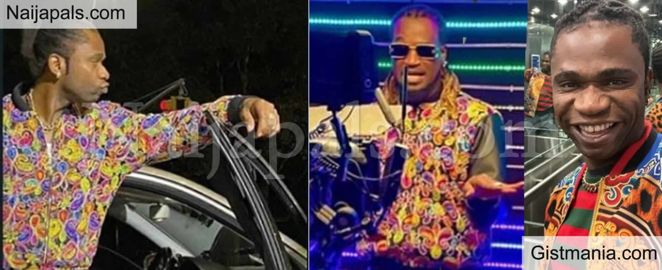 <img alt='.' class='lazyload' data-src='https://img.gistmania.com/emot/laugh.gif' /> Copy Copy Be Original! <b>Speed Darlington Calls out Paul Okoye, Mr P For Copying His Outfit</b>