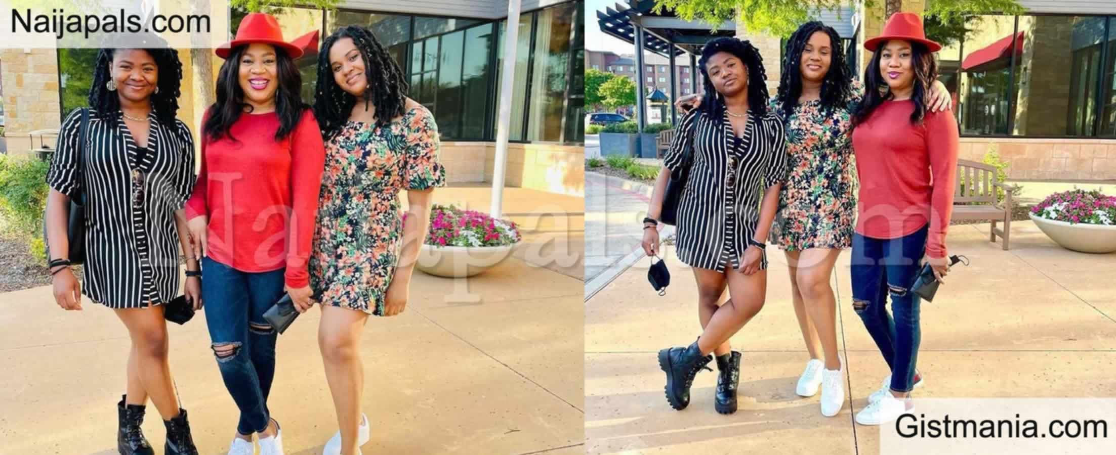 <img alt='.' class='lazyload' data-src='https://img.gistmania.com/emot/photo.png' /> Photos:<b> Nollywood Actress, Stella Damasus Shares Lovely Photos With Her Grown-Up Daughters</b>