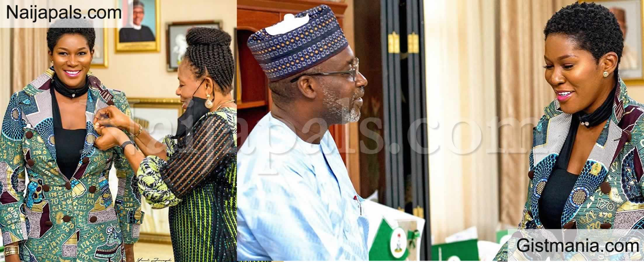 <img alt='.' class='lazyload' data-src='https://img.gistmania.com/emot/thumbs_up.gif' /> PHOTOS: <b>Nollywood Actress Stephanie Linus Gets New Appointment With Buhari's Government</b>
