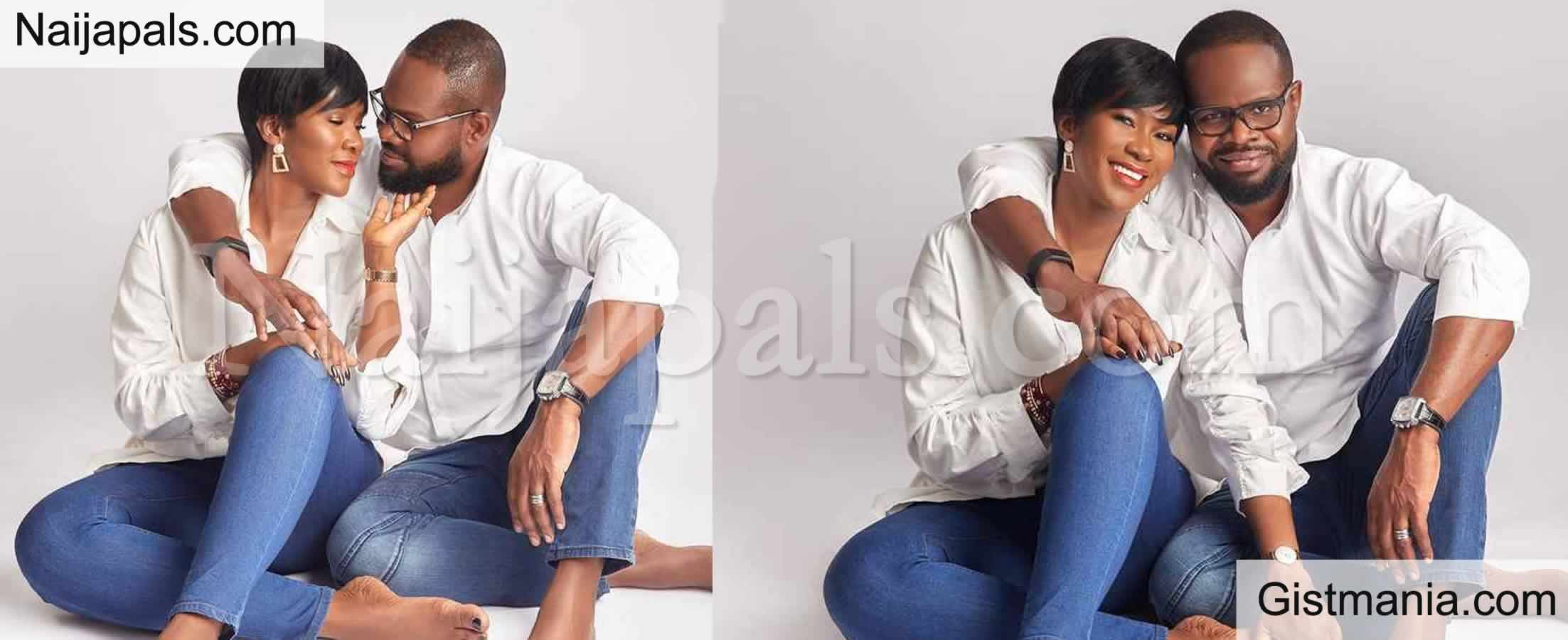 <img alt='.' class='lazyload' data-src='https://img.gistmania.com/emot/love.gif' /> <b>Stephanie Okereke & Husband, Linus Idahosa Mark Their 9th Wedding Anniversary With Cute Photos</b>